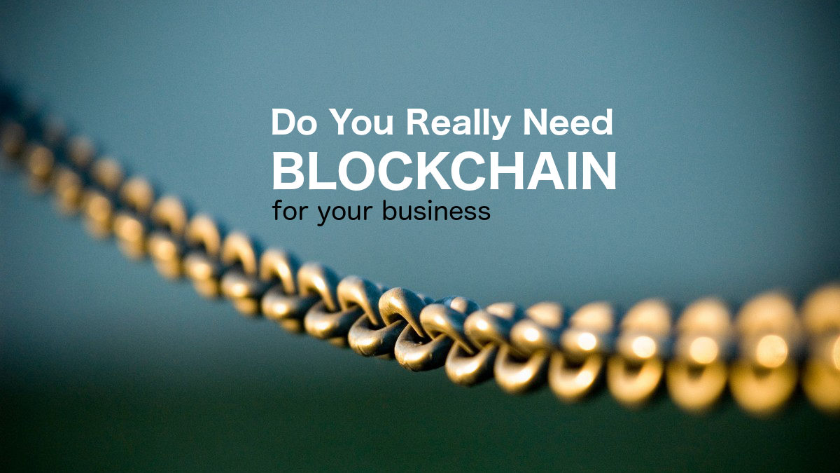 Watch Full Movie - Do You Really Need Blockchain - Watch Trailer