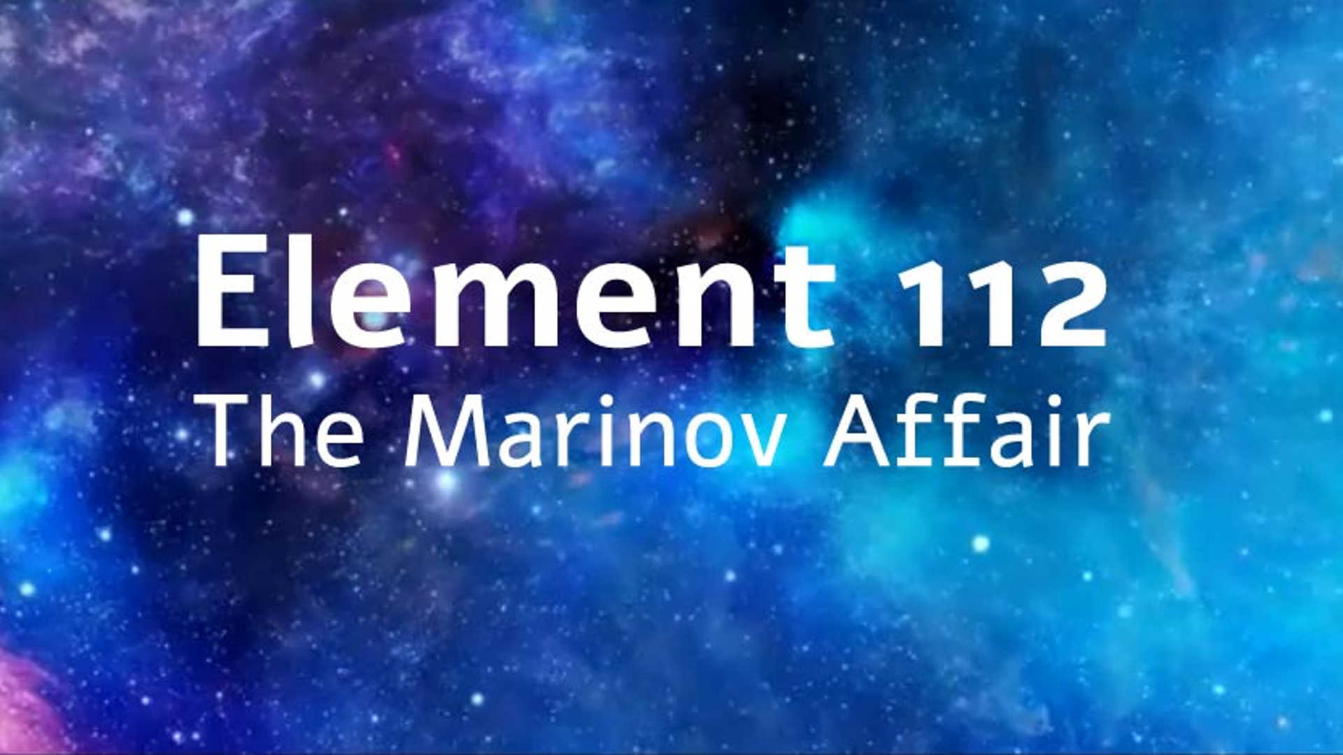 Watch Full Movie - Element 112 - The Marinov Affair